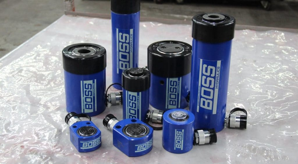 Boss Blue Cylinders