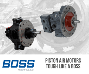 piston air motors product range